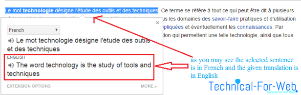 How to translate words, sentences or even texts in real time on your browser3.png
