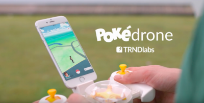 « Pokédrone », a drone that facilitates Pokémon chasing
