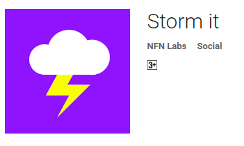 storm it logo; screen shot by technical for web