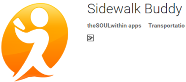 Sidewalk Buddy: helps you to stop running into people while using the mobile phone in the street